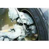 conserto de suspensão de caminhão FH 460 Água Rasa