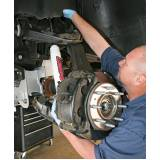 conserto de suspensão de caminhão ABC