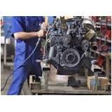 oficina de conserto de motor de caminhão mercedes Bixiga