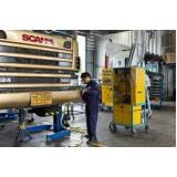 oficina mecânica para caminhão scania em sp Vila Esperança