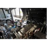 serviço de troca de óleo de caminhão volvo FH 460 Grajau