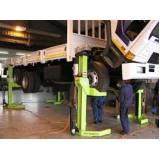 suspensão de caminhão da scania Guararema