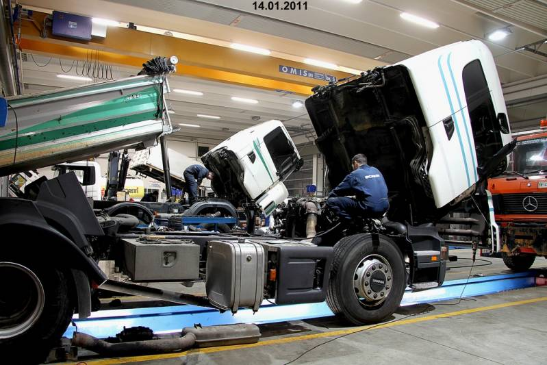 Trocas de óleo de Caminhão da Scania Jundiaí - Troca de óleo de Caminhão da Scania